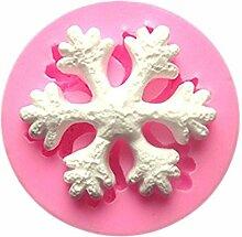LC Schneeflocke X1031Silikon Fondant Form Kuchen Form Schokolade Backen Sugarcraft Dekorieren Werkzeuge
