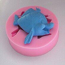 LC Süßes Fisch X1027Silikon Fondant Form Kuchen Form Schokolade Backen Sugarcraft Dekorieren Werkzeuge