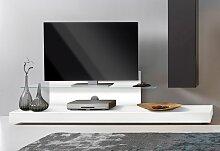 LC TV-Board Cube, mit Glasboden Einheitsgröße