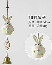 LCC Keramik Wind Glocke hängen kreative Mädchen