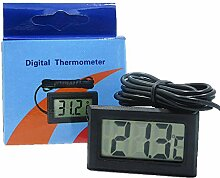 LCD Digital Thermometer Mit Batterie