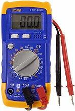 LCD Display Digital Voltmeter Multimeter w 2Test Lead