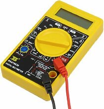 LCD Display Messung DC Amperemeter Ohmmeter