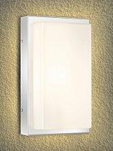 LCD Edelstahl Aussenleuchte Typ 048, mit LED und Bewegungsmelder