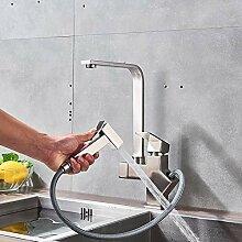 LCDIEB Küchenarmatur Ausziehbarer Küchenarmatur