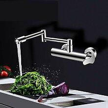 LCDIEB Küchenarmatur Chrom Küchenmischer