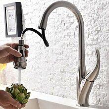 LCDIEB Küchenarmatur Küchenauszug Wasserhahn