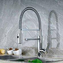 LCDIEB Küchenarmatur Polierte Chrom Bad