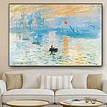 Lcgbw Impression Sunrise Oil Gemälde auf Leinwand