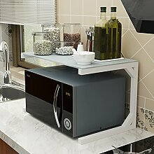 LCHEGG 2 Tier Küche Rack Mikrowelle Stand