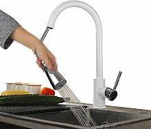 LCHENGJIN® Weiß Küchenarmatur mit