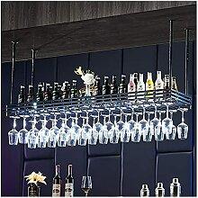 LCJD Becher Weinglasregal, verkehrte Dekoration
