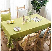LCK Tischdecke, quadratisch Einfarbig für
