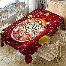 LCLrute Weihnachten Dekorative Tischdecke für