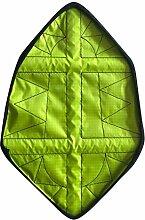 LCLrute Wiederverwendbare wasserdichte automatische Schuhabdeckung Erwachsener wiederholte wasserdichte Schutzhülle schnelle automatische Schuh-Abdeckung (Grün)