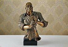LCLZ Exquisite Abbildung Bust Whitehead Bar Music