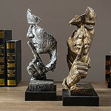 LCLZ Exquisite Abstrakte Skulptur Handwerk