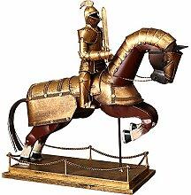 LCLZ Exquisite Eisen-Samurai-Rüstung Ritter