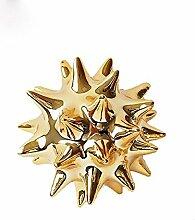 LCLZ Exquisite Gold Seeigel Eingang Bar Kreative