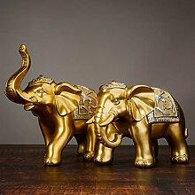 LCLZ Exquisite Golden Elephant, Chinesisch