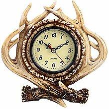 LCLZ Exquisite Harz Handwerk Großhandel Retro Uhr