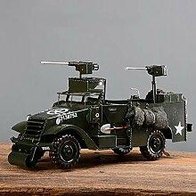 LCLZ Exquisite Retro Kampf Militärfahrzeug