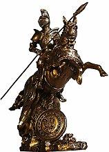 LCLZ Exquisite Römische Skulptur Modell Vintage
