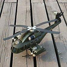 LCLZ Exquisite Tin Retro Kampfflugzeuge