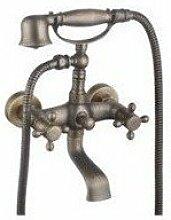 Lcoaung Badezimmer, Kupfer, Antik Wasserhahn, Dusche, Dusche, C