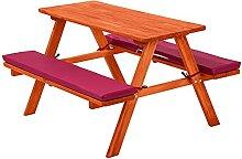 LCSA Kinderpicknickbank Kinder Picknicktisch