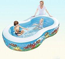 LCSHAN Aufblasbares Schwimmbecken Schwimmbecken