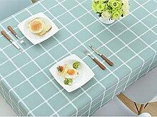 LCTCZB Tischdecken PVC-wasserdicht und