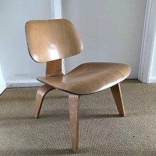 LCW Birke Furnier Stuhl von Charles & Ray Eames,