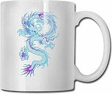 LCYYDECO Porzellan Kaffeebecher Dragon Animal Line