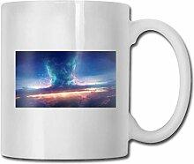 LCYYDECO Porzellan-Kaffeebecher Tornado Light