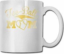LCYYDECO Porzellan Kaffeetasse Tee Ball Mom