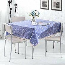 LD&P Baumwoll-Tischdecke Pastoral-Druck dicker Tisch Küche Wohnzimmer Esstisch Couchtisch Tischdecke Lebensdekoration Tischdecke Tuch,1,130*170CM