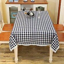 LD&P Einfache Tischdecke Restaurant Restaurant Tischdecke Hausdekoration Staubdicht Mehrzweck Handtuch Verschiedene Größen,gray,130*180cm
