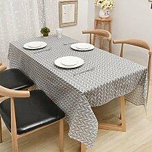 LD&P Flachs Tischdecken Kaffeetischtücher, runde Tischdecken Diverse Größen Dekorative Tischplatte überdacht Mehrfachhandtuch,gray,70*70cm
