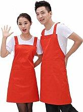 LD&P Geeignet für Männer und Frauen Schultern Schürzen, langlebig, Tasche, Küchenschürzen Familie,G,one size