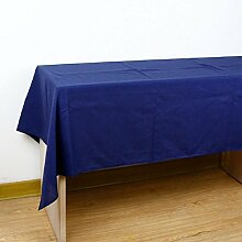 LD&P Home reine Farbe Leinen Tischdecke Tischdecke Tischdecke Deckel Tuch, für Picknick Matte Couchtisch Schreibtisch Abdeckung, Qualität tragen praktische Tischdecke,B,140*220cm