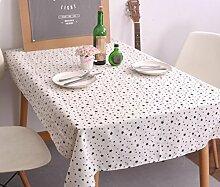 LD&P Moderne einfache Tischdecke schwarz-weiß geometrische Mahlzeit Tischdecke Baumwolle Leinen Kopf Schrank Deckel Handtuch Haus Dekoration Mehrzweck-Deckel Tuch,G,140*220CM