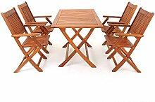 LD Sitzgruppe Sitzgarnitur Holz Gartenset