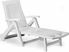 LD Sonnenliege Liege Gartenliege Liegestuhl