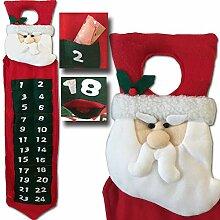 LD Weihnachten Deko Adventskalender Türhänger