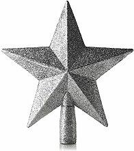 LD Weihnachten Deko Glitter Weihnachtsbaum Stern