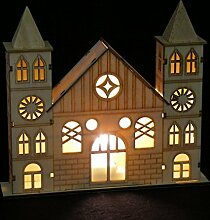 LD Weihnachten Deko LED Fensterdeko Kirche