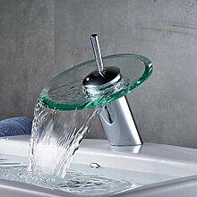 Lddpl Glasauslauf Wasserfall Waschbecken