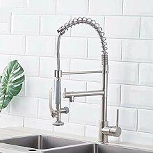 Lddpl Küchenarmatur Nickel Gebürstet Wasserhahn