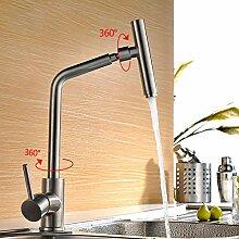 Lddpl küchenarmatur wassermischer kran edelstahl